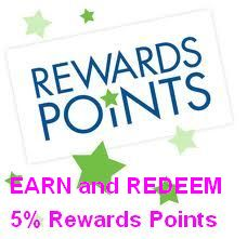 5% Rewards Points